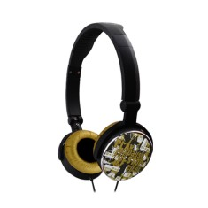 Foto Headphone G-Cube GHCR-109G Dobrável