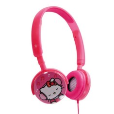 Foto Headphone Hello Kitty KIT-HFPROS Ajuste de Cabeça