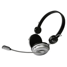 Foto Headset New Link com Microfone Super Bass HS101