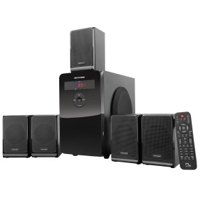 Foto Home Theater Multilaser 120 W 5.1 Canais SP160