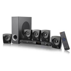 Foto Home Theater Multilaser com DVD 240 W 5.1 Canais Karaokê 1 HDMI SP168