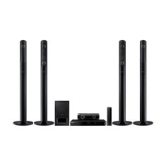 Foto Home Theater Samsung com Blu-Ray 3D 1.000 W 5.1 Canais HT-J5520WK/ZD