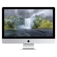 Foto iMac Apple MF886 Intel Core i5 8 GB 1 TB Mac OS X Yosimite 27""