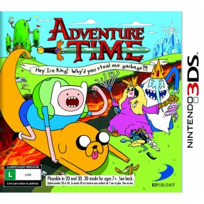 Foto Jogo Adventure Time D3 Publisher Nintendo 3DS