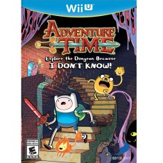 Foto Jogo Adventure Time: Explore Dungeon Because I Don't Know Wii U D3 Publisher