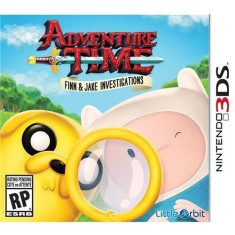 Foto Jogo Adventure Time: Finn & Jake Investigations Little Orbit Nintendo 3DS