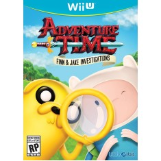 Foto Jogo Adventure Time: Finn & Jake Investigations Wii U Little Orbit