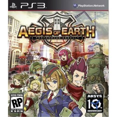 Foto Jogo Aegis of Earth: Protonovus Assault PlayStation 3 Aksys Games