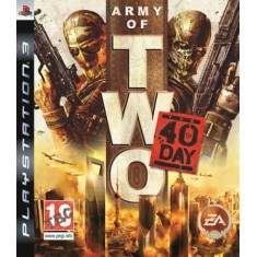 Foto Jogo Army Of Two: The 40th Day PlayStation 3 EA