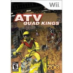 Foto Jogo ATV Quad Kings Wii Zoo Games