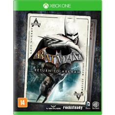 Foto Jogo Batman Return to Arkham Xbox One Warner Bros