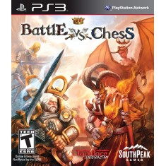Foto Jogo Battle vs Chess PlayStation 3 SouthPeak Games