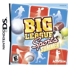 Foto Jogo Big League Sports Summer Activision Nintendo DS