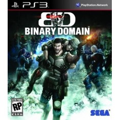 Foto Jogo Binary Domain PlayStation 3 Sega