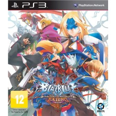 Foto Jogo BlazBlue: Continuum Shift Extend PlayStation 3 Activision