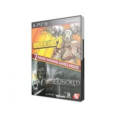 Foto Jogo Borderlands 2 e Dishonored PlayStation 3 2K