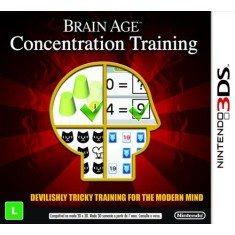 Foto Jogo Brain Age: Concentration Training Nintendo 3DS