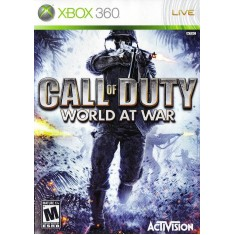 Foto Jogo Call Of Duty 5 World At War Xbox 360 Activision