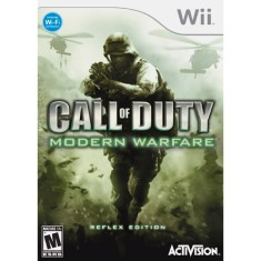 Foto Jogo Call Of Duty: Modern Warfare Reflex Wii Activision