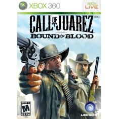 Foto Jogo Call of Juarez Bound in Blood Xbox 360 Ubisoft
