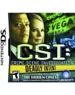 Jogo CSI Deadly Intent The Hidden Cases Ubisoft Nintendo DS