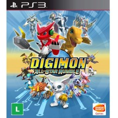 Foto Jogo Digimon All-Star Rumble PlayStation 3 Bandai Namco