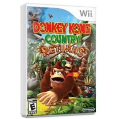 Foto Jogo Donkey Kong Country Returns Wii Nintendo