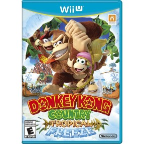 Foto Jogo Donkey Kong Country: Tropical Freeze Wii U Nintendo