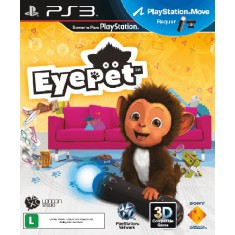 Foto Jogo Eye Pet PlayStation 3 Sony
