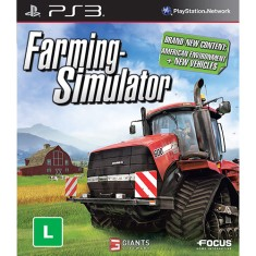 Foto Jogo Farming Simulator PlayStation 3 Focus