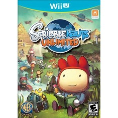 Foto Jogo Game Scribblenauts Unlimited Wii U Warner Bros