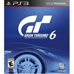 Foto Jogo Gran Turismo 6 PlayStation 3 Sony