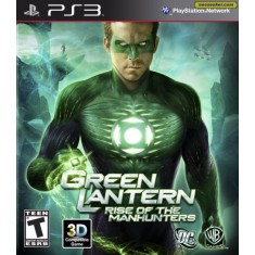 Foto Jogo Green Lantern: Rise of the Manhunters PlayStation 3 Warner Bros