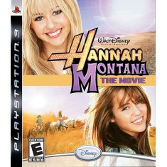 Foto Jogo Hannah Montana: The Movie PlayStation 3 Disney