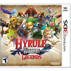 Foto Jogo Hyrule Warriors Legends Nintendo 3DS