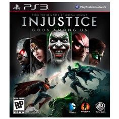 Foto Jogo Injustice: Gods Among Us PlayStation 3 Warner Bros