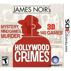 Foto Jogo James Noir's Hollywood Crimes Ubisoft Nintendo 3DS