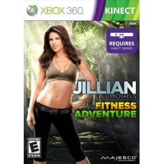 Foto Jogo Jillian Michaels Fitness Adventure Xbox 360 Majesco Entertainment
