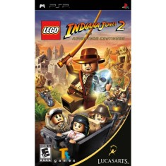 Foto Jogo Lego Indiana Jones II The Adventure Continues LucasArts PlayStation Portátil