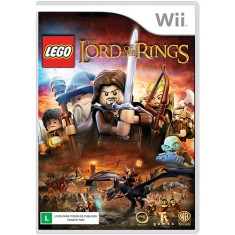 Foto Jogo Lego Lord of The Rings Wii Warner Bros