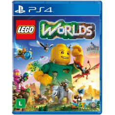 Foto Jogo Lego Worlds PS4 Warner Bros
