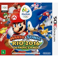 Foto Jogo Mario & Sonic at the Rio 2016 Olympic Games Nintendo 3DS