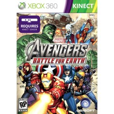Foto Jogo Marvel Avengers Battle For Earth Xbox 360 Ubisoft
