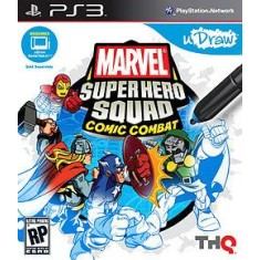 Foto Jogo Marvel Super Hero Squad: Comic Combat PlayStation 3 THQ