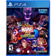 Foto Jogo Marvel vs. Capcom Infinite PS4 Capcom