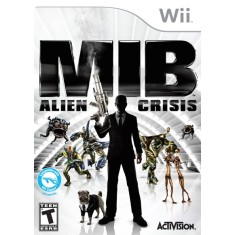 Foto Jogo Men In Black: Alien Crisis Wii Activision