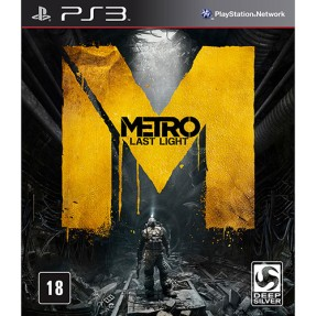 Foto Jogo Metro: Last Light Limited Edition PlayStation 3 Deep Silver