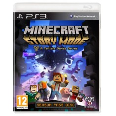 Foto Jogo Minecraft Story Mode PlayStation 3 Telltale