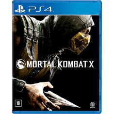 Foto Jogo Mortal Kombat X PS4 Warner Bros