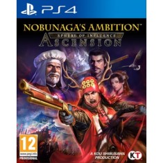 Foto Jogo Nobunagas Ambition Sphere of Influence Ascension PS4 Koei